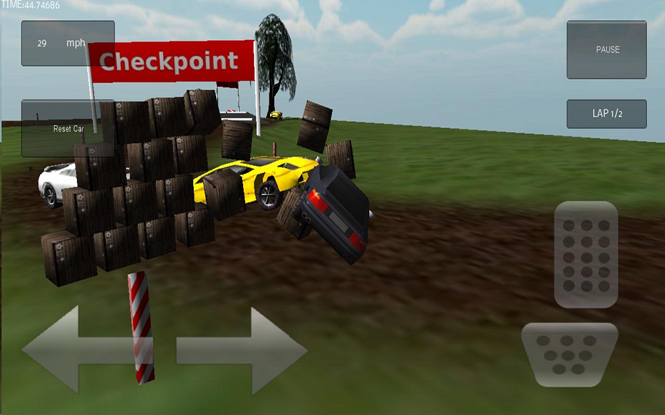 Screenshot 3D Demolition Race