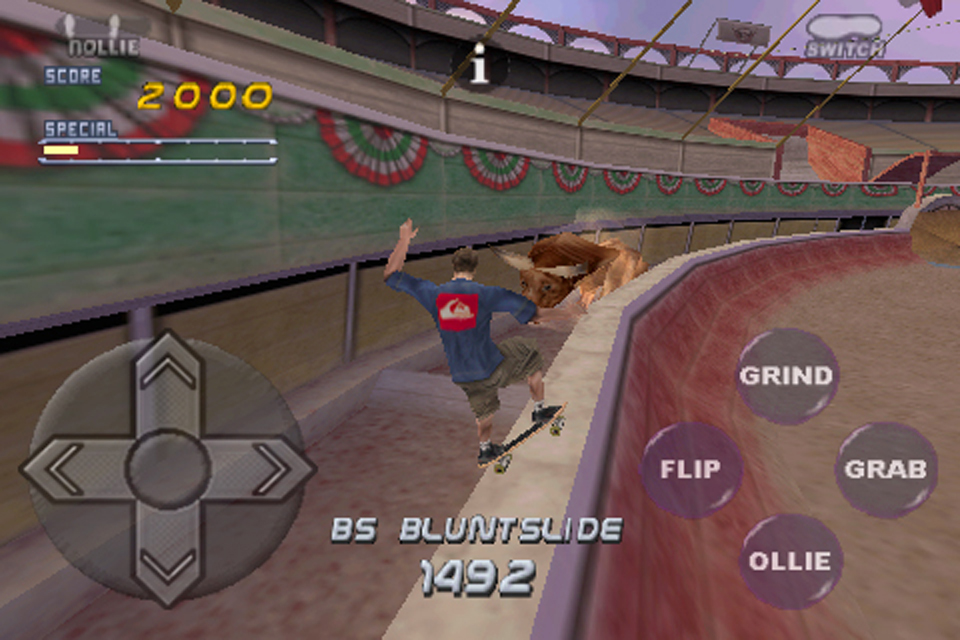 Screenshot Tony Hawk's Pro Skater 2
